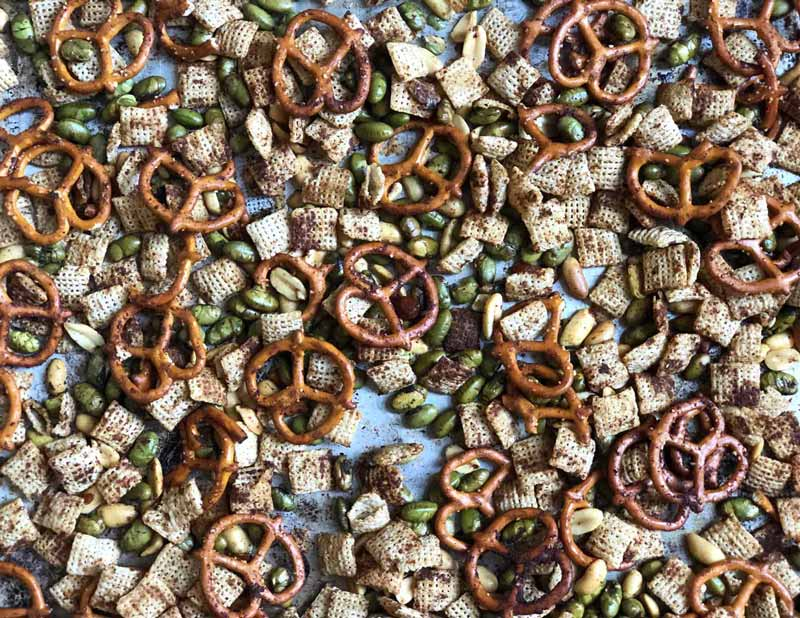 Asian-Style Chex Party Mix
