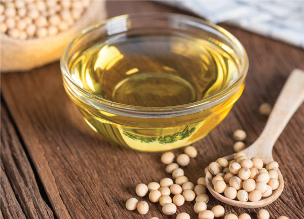 Soybean Oil in Cup