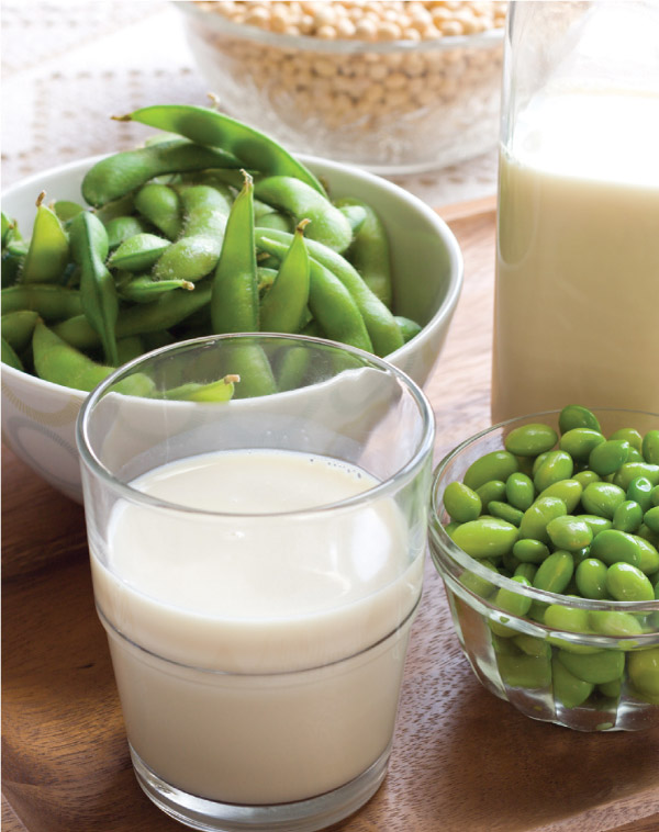 Many forms of soy
