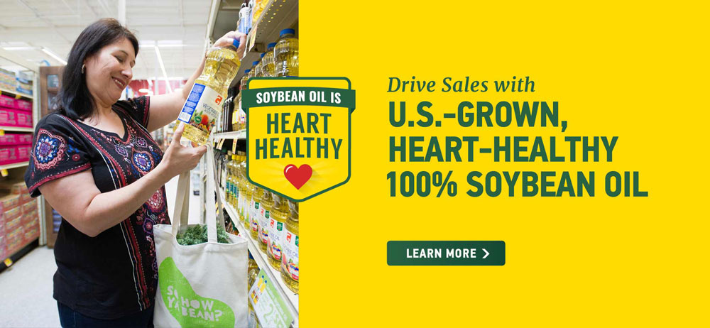 US Grown Heart Healthy Soybean Oil