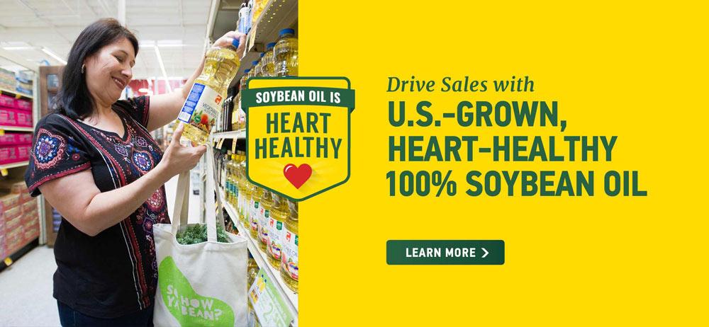 US Grown Heart Healthy Soybean Oil