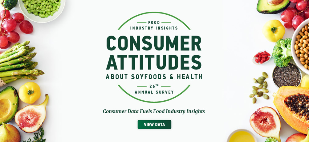 Consumer Attitudes about Soyfood and Health