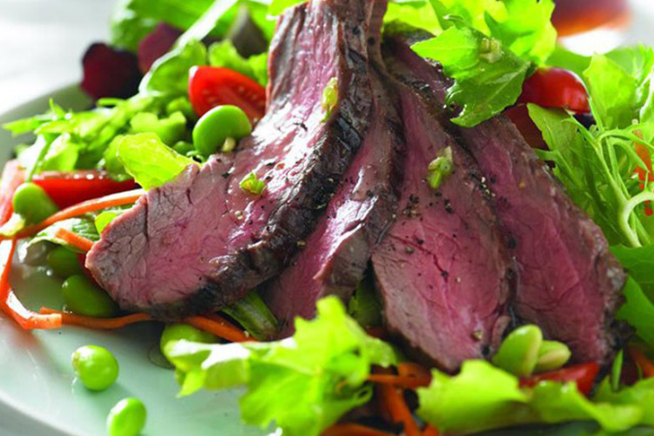 Beef Salad with GingerDressing