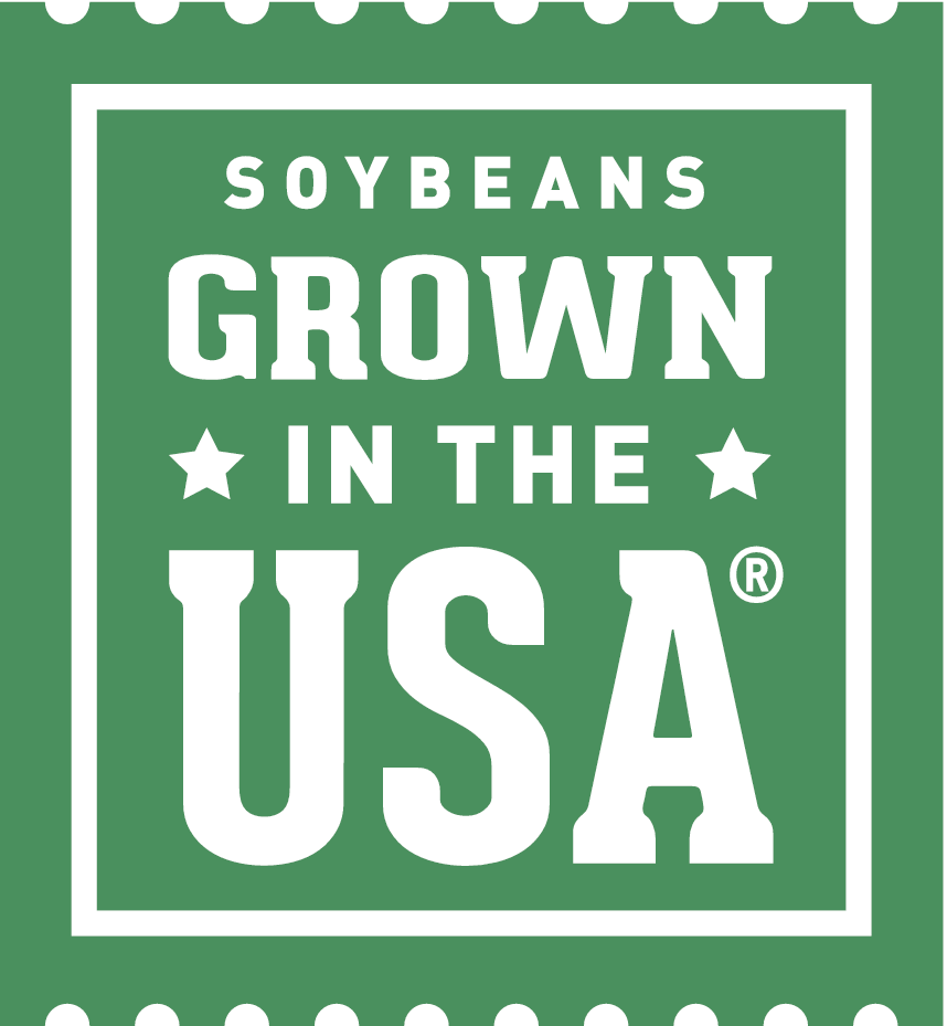 Soybeans Grown in the USA Logo